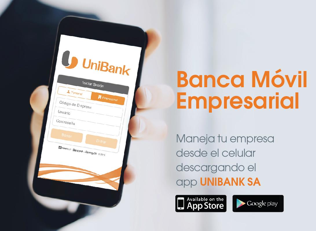 Banca Móvil Empresarial