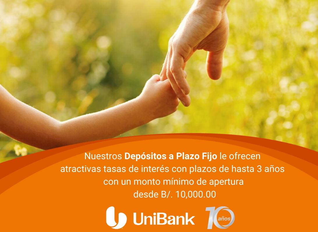 Depositos a Plazo Fijo Unibank