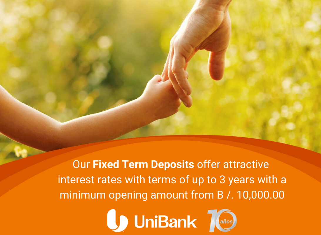 FIXED TERM DEPOSIT UNIBANK