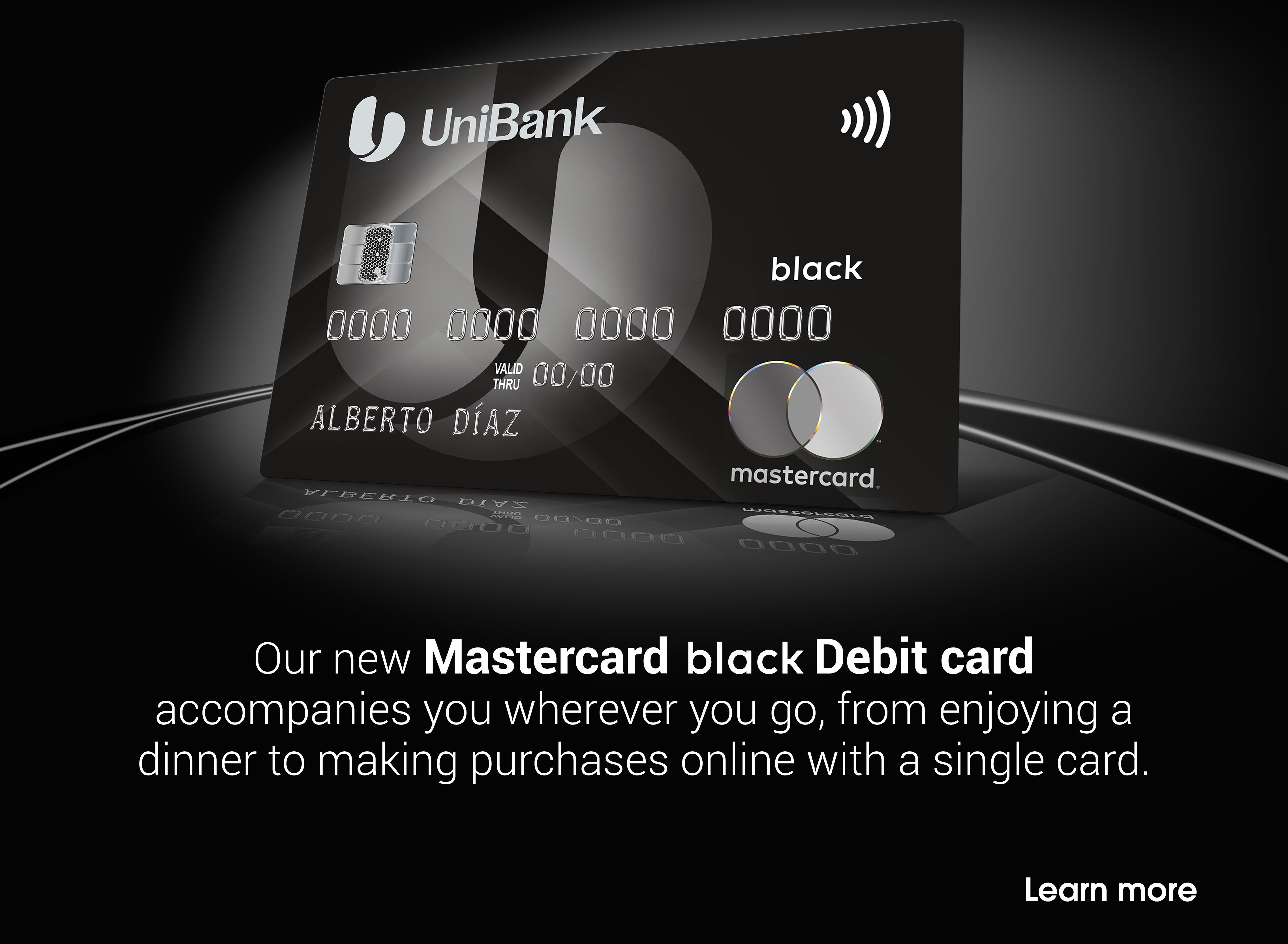 Mastercard Black Debit