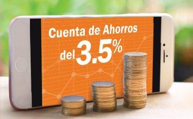Cuenta de Ahorro 3.5%