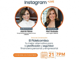 Instagram LIVE con Mari Guizado | UniBank