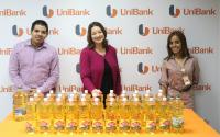 Donación de aceite vegetal al Banco de Alimentos #PanamáSolidario