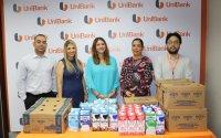Donación de leche a beneficio de la Escuela El Bijagual