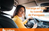 Recarga tu panapass desde nuestra Banca en Línea
