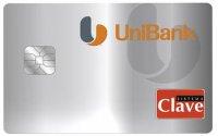 """""""Unibank"""" """"Tarjeta debito Clave"""""""